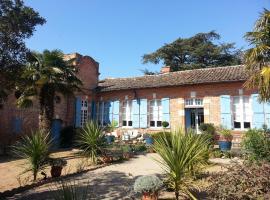 18th-Century Haute-Garonne Guest House, Poucharramet (рядом с городом Saint-Lys)