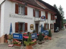 Auberge Restaurant Couronne, Beurnevésin (Bonfol yakınında)