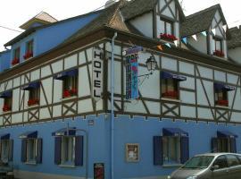 Hôtel Restaurant Aux Deux Roses, Нёф-Бризах (рядом с городом Бисайм)