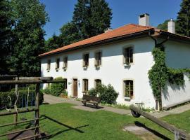 Le Bémont Youth Hostel, Bemont (рядом с городом Goumois)