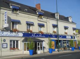 Logis Hostellerie Saint Paul, Vivy (рядом с городом Neuillé)
