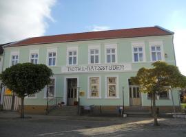 Hotel Ratsstuben, Kalbe (Zichtau yakınında)