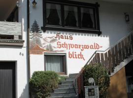 Pension Schwarzwaldblick, Hornberg
