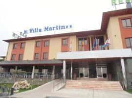 Area de Servicio Villamartín, Villamartín de la Abadía (рядом с городом Villadecanes)