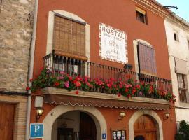 Hostal Restaurant Populetus, Poboleda (Porrera yakınında)