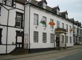 Owain Glyndwr Hotel, Корвэн (рядом с городом Cynwyd)