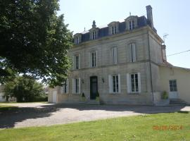 La Bertonnière, Saint-Martial-de-Mirambeau (рядом с городом Мирамбо)