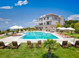 Marini Luxury Apartments and Suites, Эгина (рядом с городом Tzíkidhes)