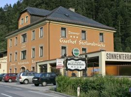 Hotel Gasthof Stefansbrücke, Innsbruck (Kreith yakınında)