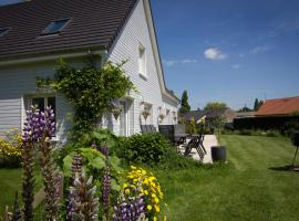 Chambres d'hôtes L'Abri Cotier Rue de la Baie, Сен-Валери-сюр-Сомм (рядом с городом Lanchères)