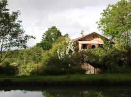 Gîte Au Jardin, Meilhan-sur-Garonne (рядом с городом Sainte-Bazeille)