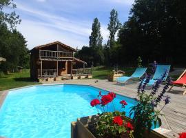La Ferme du Bonheur, Marmont-Pachas (рядом с городом Saint-Vincent-de-Lamontjoie)