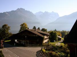 Gasthof zur Post, Hasliberg (Perto de Meiringen)
