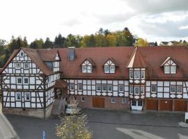 Hotel Zum Stern, Rauischholzhausen (Homberg Ohm yakınında)