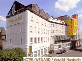 Hotel Weiland, Lahnstein (Rhens yakınında)