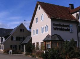 Landgasthof Sontheimer Wirtshäusle, Sontheim im Stubental (Heldenfingen yakınında)