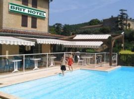 Brit Hotel Vallee du Lot, Фюмель (рядом с городом Saint-Vite)