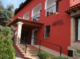 Hotel La Rueda, Мора-де-Рубьелос (рядом с городом Los Masecicos)