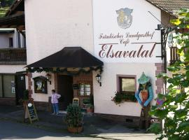 Fränkischer Landgasthof Elsavatal, Mespelbrunn (Leidersbach yakınında)