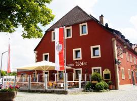 Gasthof Adler, Schillingsfürst (Neureuth yakınında)