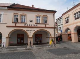 Penzion u České Koruny, Jičín (Nemyčeves yakınında)