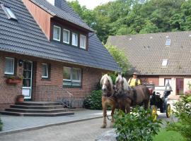 Apartment Hillmer, Niederhaverbeck (Oberhaverbeck yakınında)