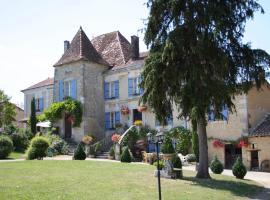 Manoir La Breuille, Montmoreau (рядом с городом Charmant)