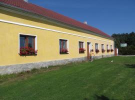 Pension Otěvěk, Trhové Sviny (Polžov yakınında)