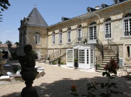 Chambres d'Hotes La Chartreuse des Eyres, Podensac (рядом с городом Rions)