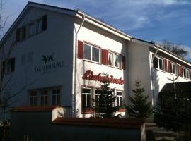 Hotel Landgasthof Läuterhäusle, Aalen (Waldhausen yakınında)