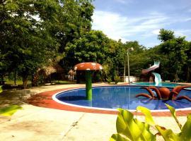Hotel Villas Magen, Эль-Ремате (рядом с городом Эль-Чаль)
