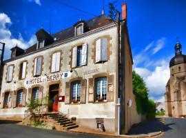 Hôtel du Berry, Aigurande (рядом с городом Le Virly)