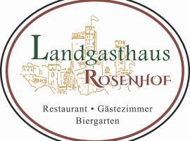 Landgasthaus Rosenhof, Trechtingshausen