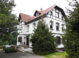Penzion Braun, Rybniště (Chřibská yakınında)