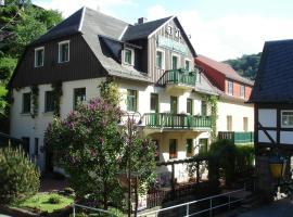 Pension Rauschenstein, Bad Schandau (Schmilka yakınında)