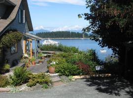 Quadra Island Harbour House B&B, Heriot Bay (Thurlow yakınında)
