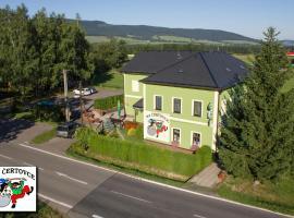 Penzion na Certovce, Dolní Orlice (Červená Voda yakınında)
