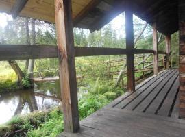 Ukuaru Nature Cabin, Aegviidu (Mägede yakınında)