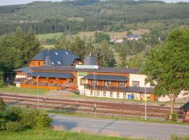 Pension An der Erzgebirgsbahn, Kurort Oberwiesenthal (Kovářská yakınında)