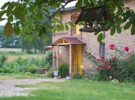 Ferienwohnung Romantika, Golßen (Glienig yakınında)