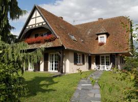 Gîte Roland Geyer, Nothalten (рядом с городом Итевиллер)