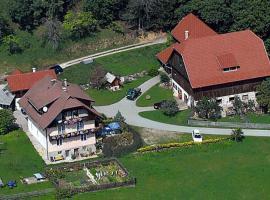 Ferienwohnung am Oberrainerhof, Arriach (Unterwöllan yakınında)
