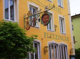 Hotel Fletzinger Bräu, Wasserburg am Inn (Pfaffing yakınında)