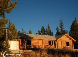 Atnarko Lodge, Nimpo Lake (Kleena Kleene yakınında)