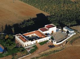 Hotel Bodega el Moral, Ribera del Fresno (рядом с городом Villafranca de los Barros)
