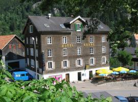Chalet Hotel Krone, Göschenen