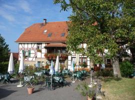 Wengerterstube & Gästezimmer Kern, Oberderdingen (Kürnbach yakınında)