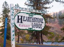 Hearthstone Elegant Lodge by the River, Kamiah