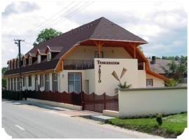 Tengerszem Panzió, Банк (рядом с городом Horpács)