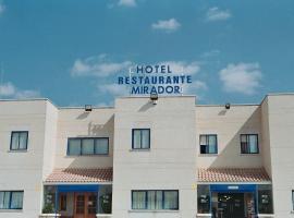 Hotel Mirador, Velilla de San Antonio